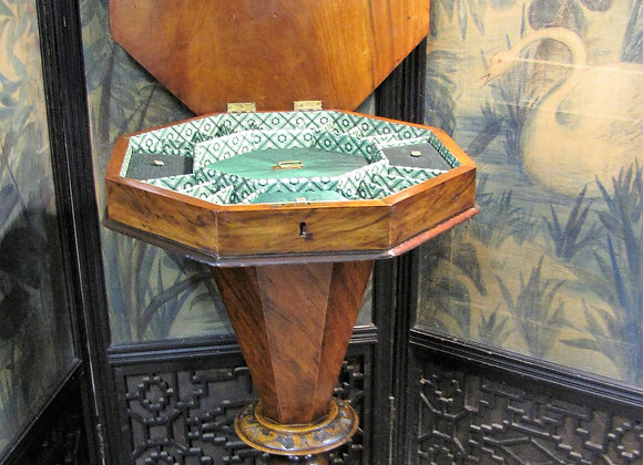 Antique Sewing /chess work table