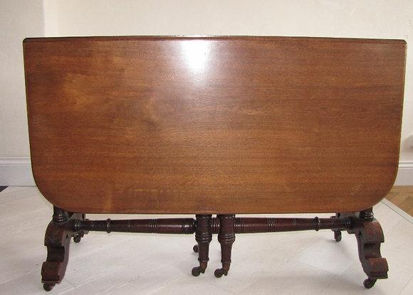 Victorian Sutherland Mahogany Dining Table