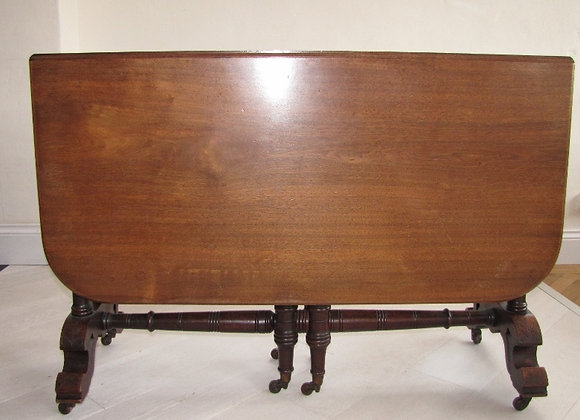 Victorian Sutherland Mahogany Dining Table