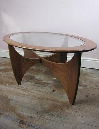 Mid Century G Plan 'Astro' Teak & Glass Coffee Table by G Plan