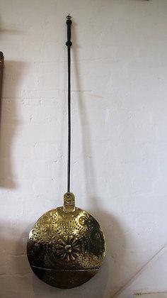 EARLY 18th Century BRASS WARMING PAN