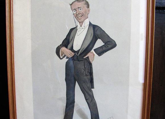 "Vanity Fair Print - ""The Pinafore "", Mr George Grossmith."