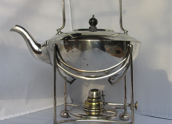 Mappin & Webb silver plated spirit kettle