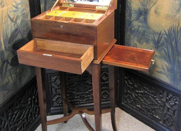 Beautiful Jewellery, work, sewing box on stand