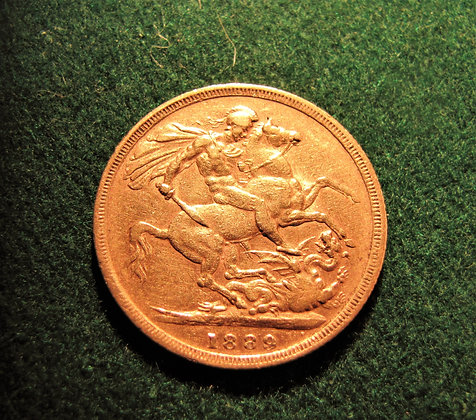 1889 Jubilee Head Gold Sovereign