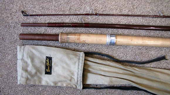 B James & Son, Bruce & Walker glass Avon Perfection rod.