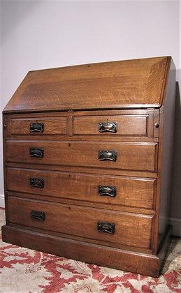 Liberty & Co Arts & Crafts Light Oak Bureau