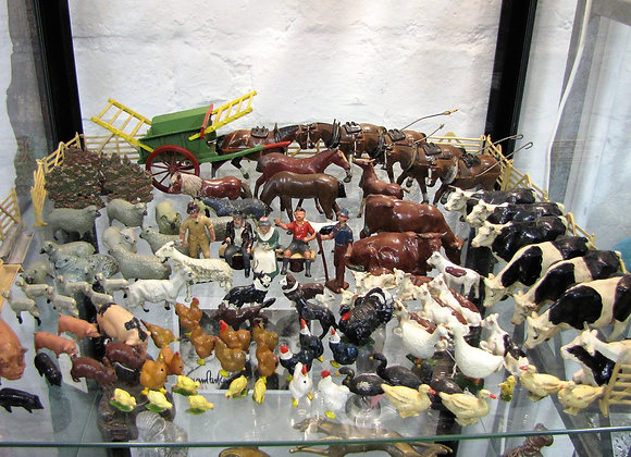 Large collection of Britain lead farm animals