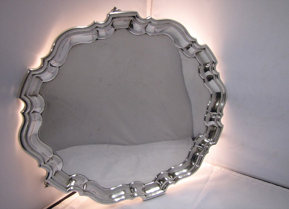 A George V Chippendale Style Silver Salver