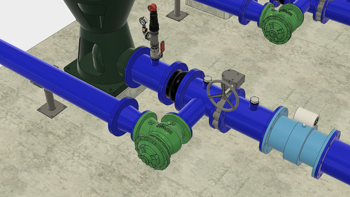 Pumping Station Animation