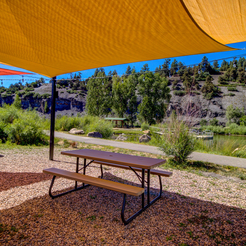 RiverWalk Inn is one of the best Pagosa Springs Hotels – Enjoy our Outdoor Seating!