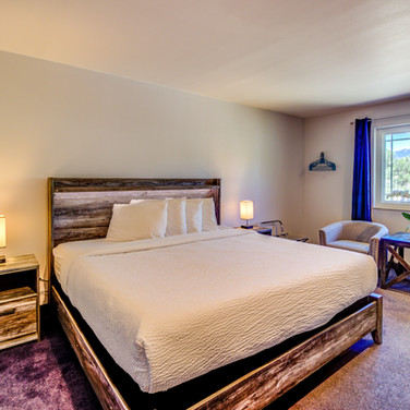 King Room at RiverWalk Inn in Pagosa Springs