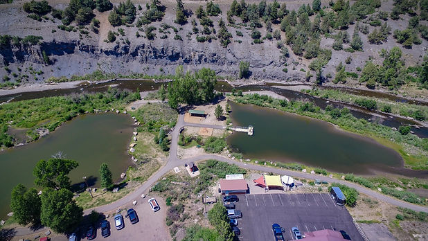 Things to do in Pagosa Springs in Summer - the RiverWalk Trail