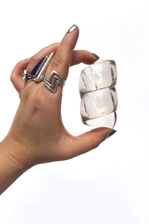 Twisted Napkin Rings-Acrylic