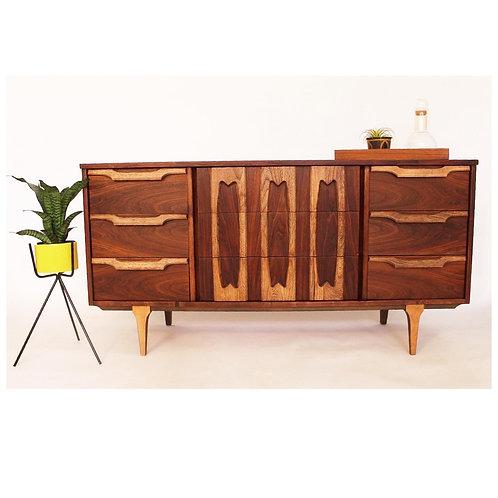 Mid Century 9 Drawer Dresser