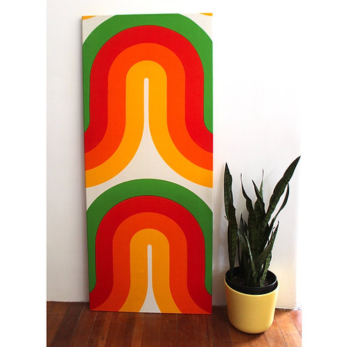 Large Stretched Strömma Fabric Art
