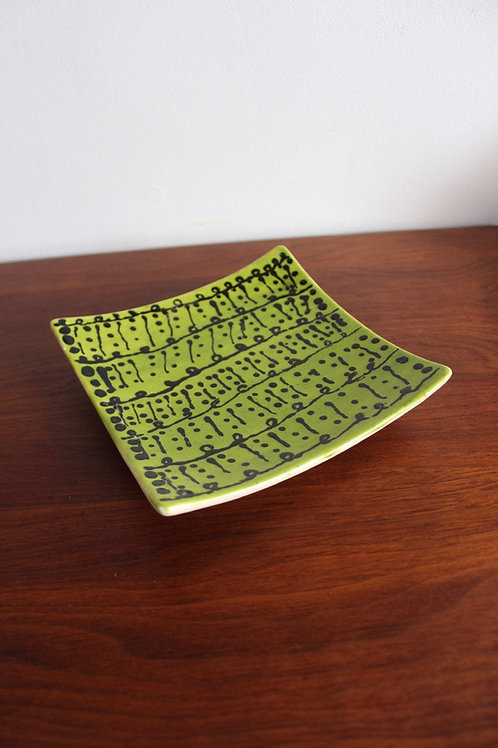 Green Ceramic Catchall