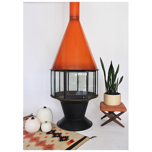 Malm Carousel Free Standing Fire Place
