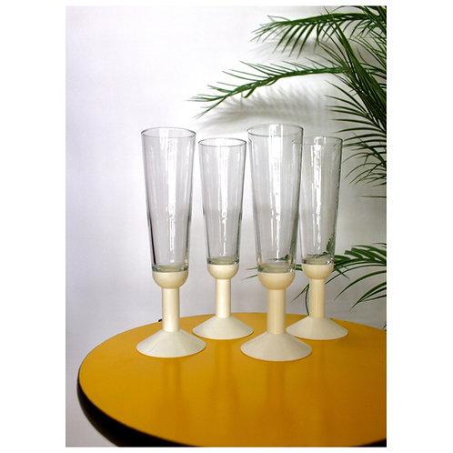 Vintage Bodum Champagne Glasses