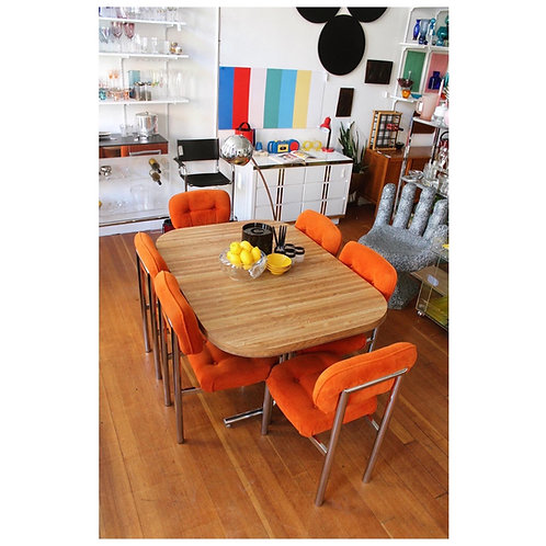 Cal style dining set