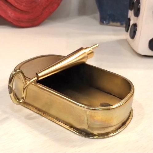 Kitschy Gold Sardine Catchall