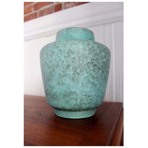 Rare West German Robins Egg Blue Vase