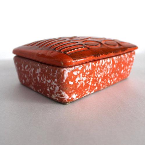 Italian Pottery Trinket Box