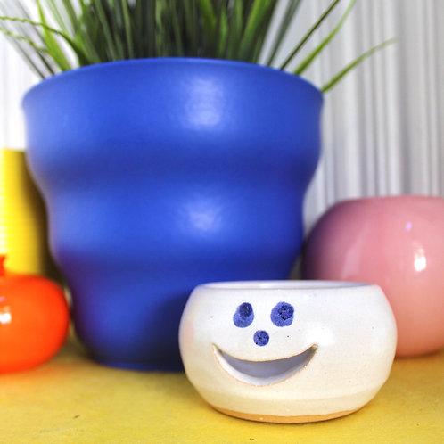 Handmade Studio Pottery Happy Place Dish