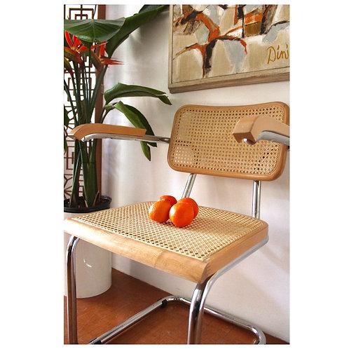 Vintage Cesca Style Arm Chair