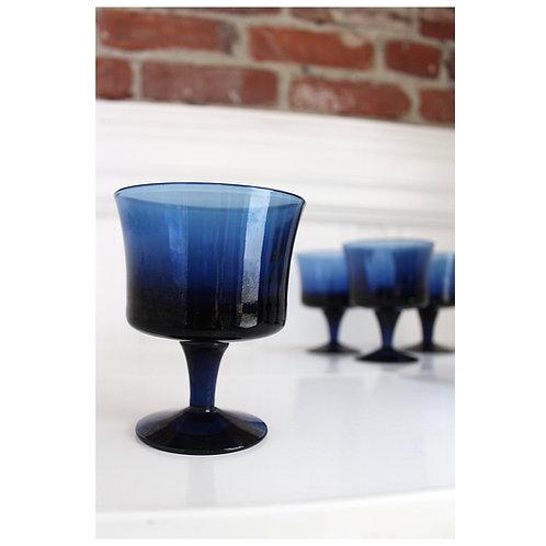 "Vintage Denby ""Arabesque Blue Ice"""