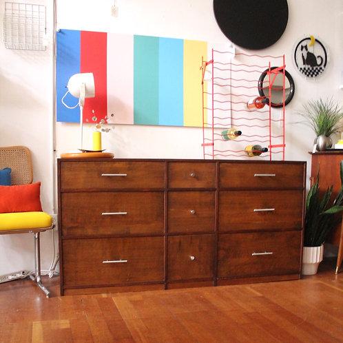 9 Drawer Lowboy Dresser