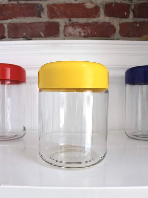 Vintage Heller Canister-Yellow