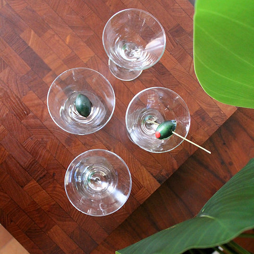 Set of 4 Mini Martinis