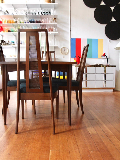 Broyhill Emphasis Walnut Dining set