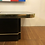 Thumbnail: 80s Black and Gold Coffee Table