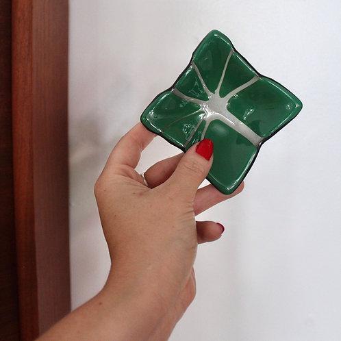 Small Art Glass Dish