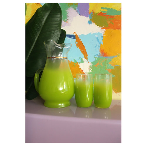 Green Blendo Drink Set