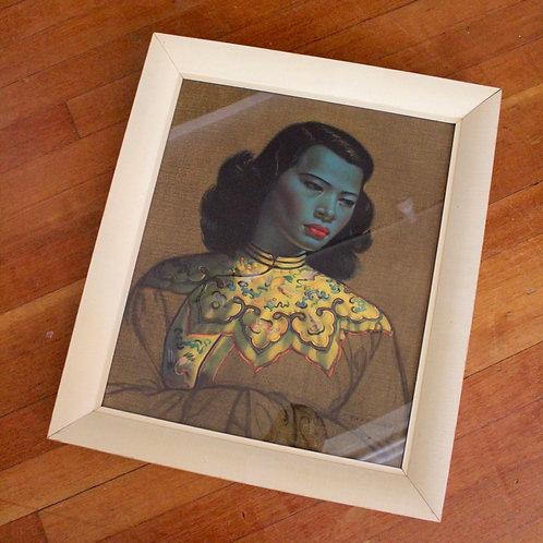 Vintage Tretchikoff Framed Print
