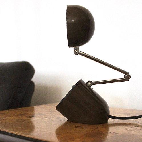 Vintage Brown Pill Desk Lamp