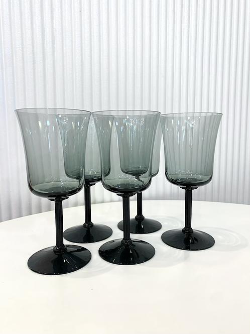 Vintage Fastoria goblets set of 5