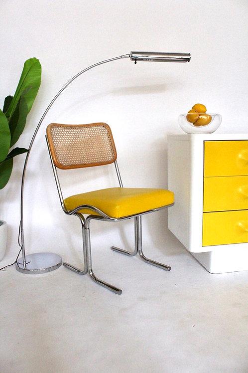 Yellow Vinyl Cal Style Cesca Chair