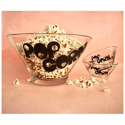 70s 3pc Popcorn Bowl Set