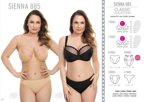 Sienna collection - replacement for Jaqueline