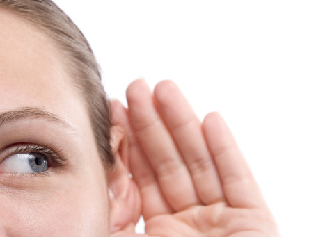 How to talk to a hearing-impaired person? Don't shout