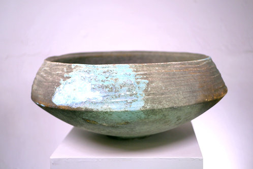 Carved Shallow Vessel