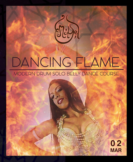 NEW! DANCING FLAME: Modern Drum Solo Online Course