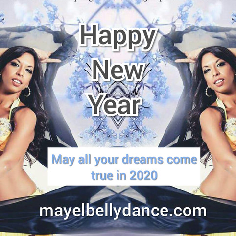 HAPPY NEW YEAR WITH LOVE FROM MAYEL!