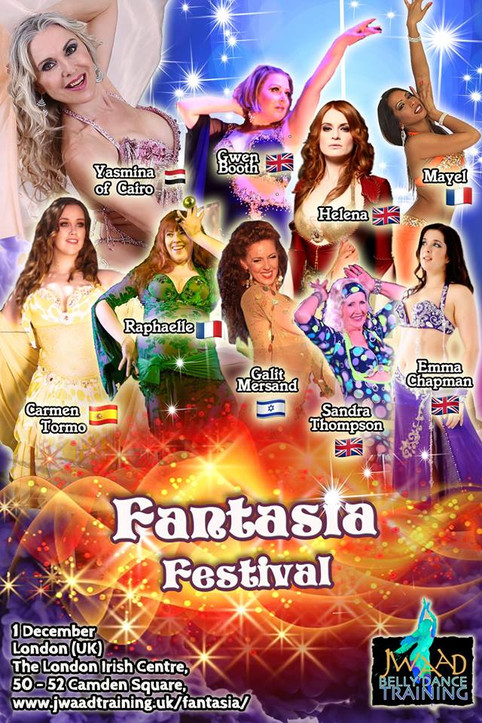 JOIN MAYEL AT THE FANTASIA FESTIVAL: 1ST DEC 18!!!