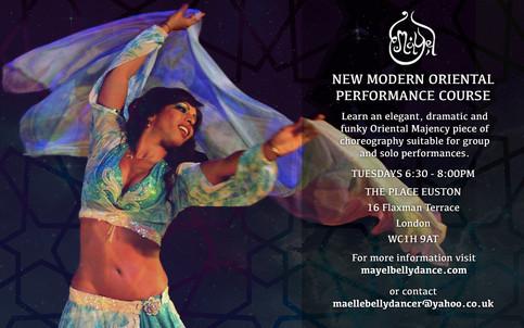 JOIN MAYEL'S NEW MODERN ORIENTAL PERFORMANCE CLASS!
