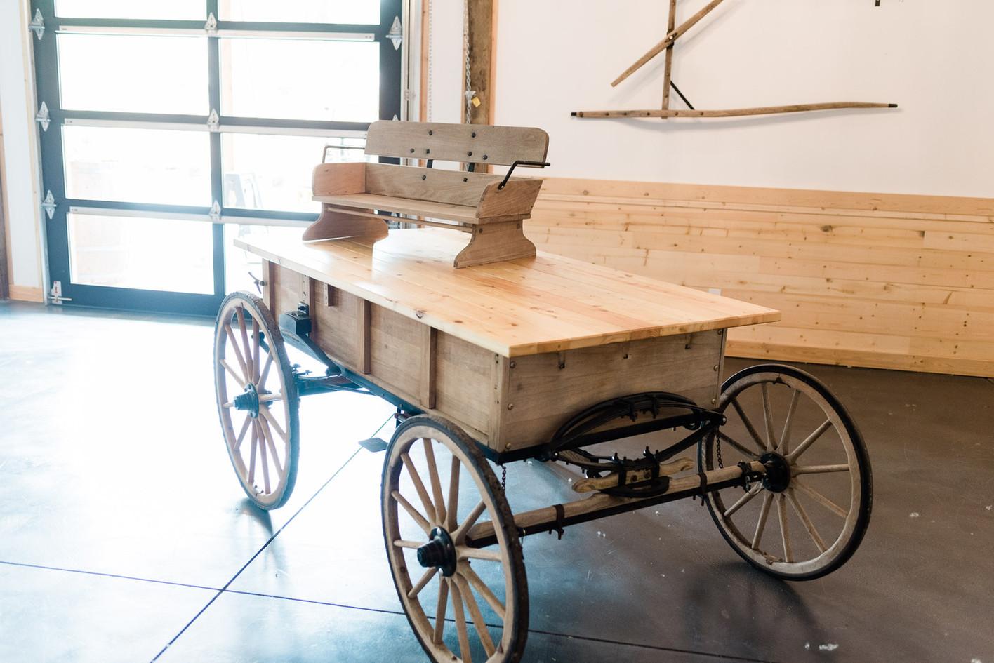 Pony Cart Table